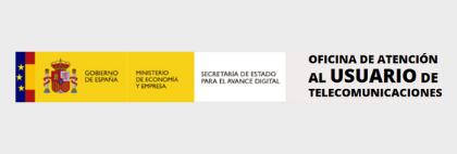 Logo Oficina de Atención al Usuario de Telecomunicaciones