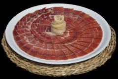 Plato de jamón serrano